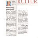 Pressebericht Kleine Zeitung 08.11.2015