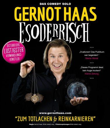 Gernot Haas: Plakat Esoderrisch